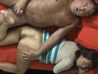 Asian wife keep going the game