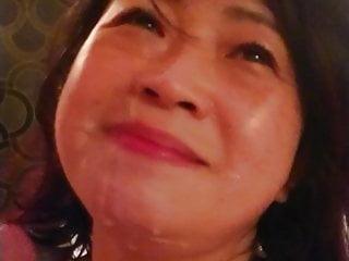 Asian milf Cum 2
