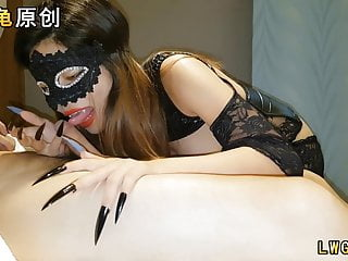 Devil Claw Vampire Teeth Cosplay Cum Tits Chinese Amateur