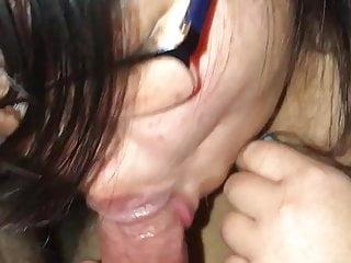 Asian BBW Slut Titfuck BJ