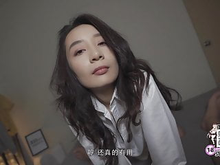 Peachy Asian Girlfriend Seduces Boy