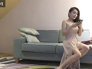 Chinese Prostitution Series Super hot Milf bitch in sexy hee