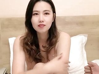 Chinese Webcam, beautiful chubby charming wife swallows jizz