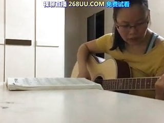 Teacher giving student hot creampie during a guitar lesson