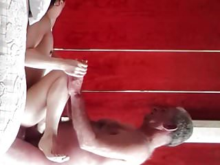 Tang Li orgasms and gets her pussy creamed