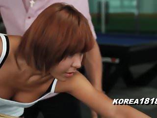KOREA1818.COM - Korean Slut MILF FUCKED at Pool Hall