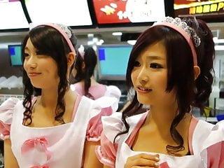 Cute fast food waitresses 2