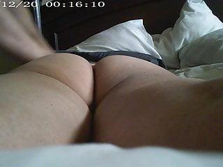 Asian Wife Getting Massage Big Brown Ass