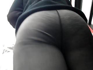 BootyCruise: Gray Leggings Up-Ass Cam 3