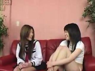 Asian lesbian squirting