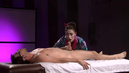Beautiful Asian Geisha (Full Massage with Footjob)